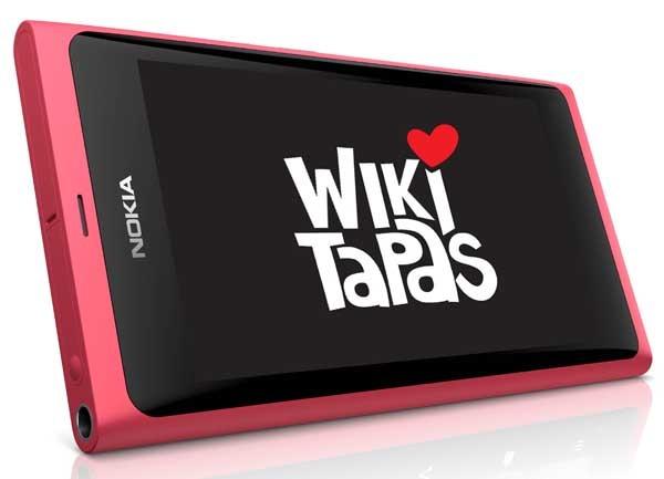 Wikitapas, un localizador de bares de tapas para el móvil