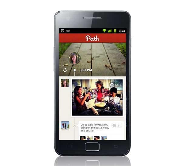 Path, una red social con línea de tiempo para móviles