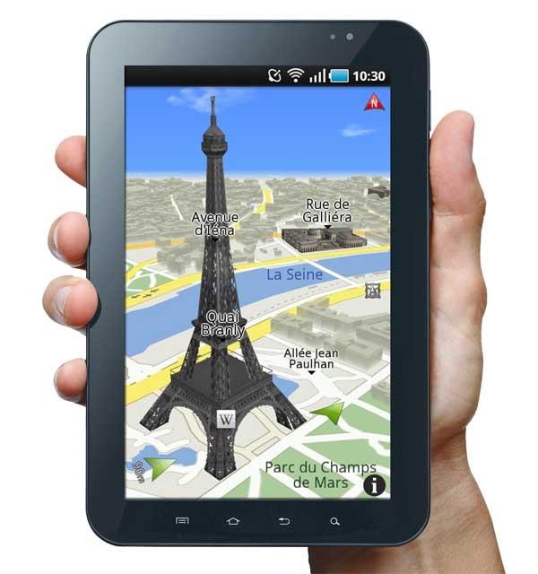 ROUTE 66, navegador GPS con realidad aumentada para Android