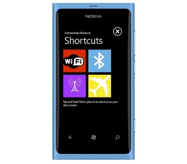 ConnectivityShortcuts, botones rápidos para Windows Phone 7