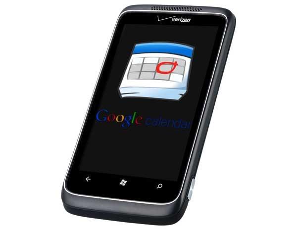 Google Sync, maneja todas tus citas con Windows Phone