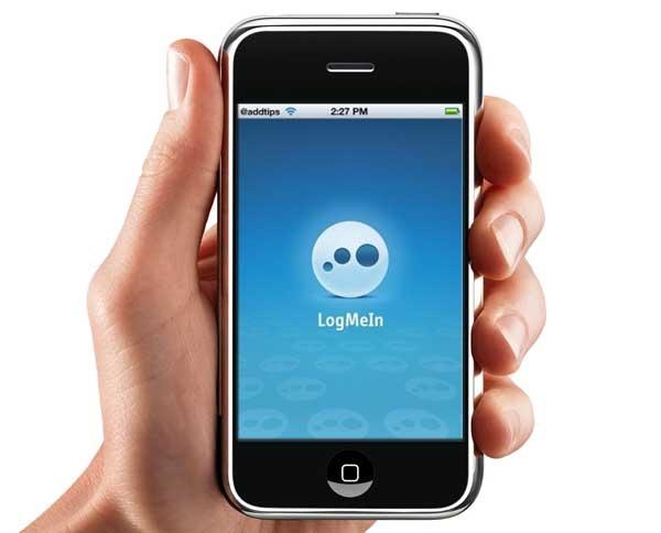 LogMeIn, controla el ordenador de casa desde tu iPhone
