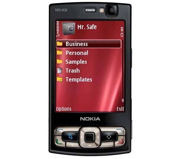 Mr. Safe Lite, una agenda de contraseñas para Nokia