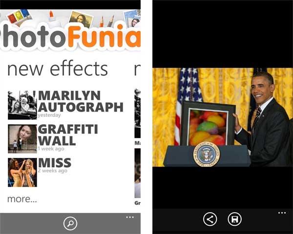 PhotoFunia, un toque gracioso para tus fotos en Windows Phone ...