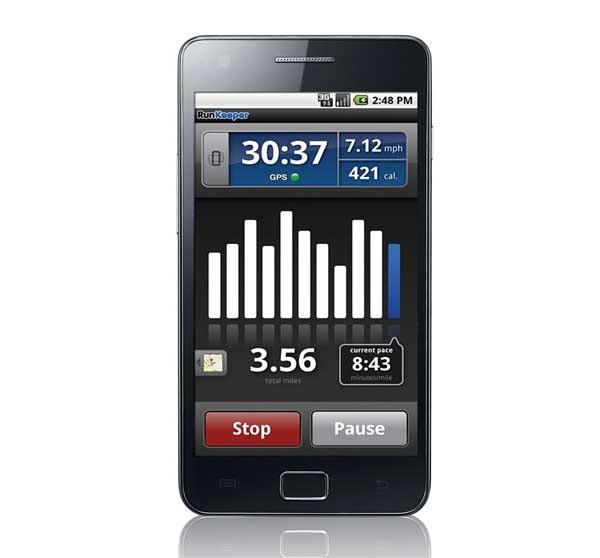 RunKeeper, un registro de tus entrenamientos para el móvil