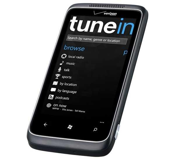 TuneIn Radio, la radio en Internet para móviles