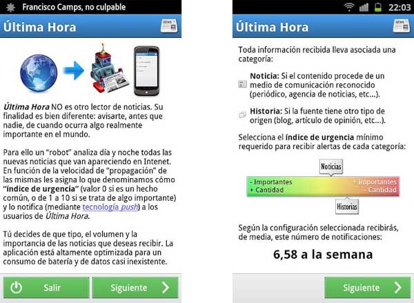 ultima hora android