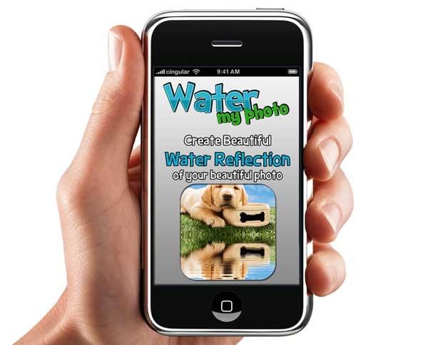 WaterMyPhoto, crea reflejos de agua en tus fotos de iPhone