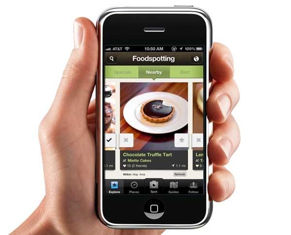 Foodspotting 3.0, comparte los mejores platos desde el móvil