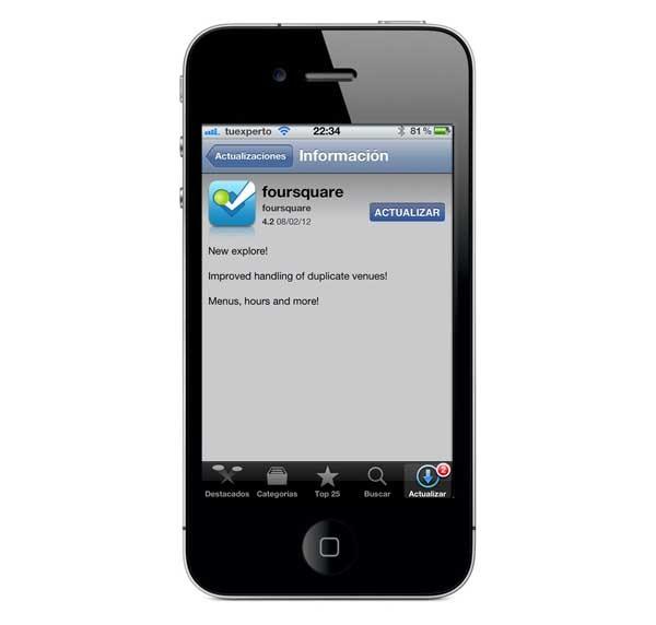 Foursquare, ahora con la función Explora en Android y iPhone