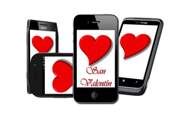 San Valentín, ideas para celebrar este día desde tu móvil