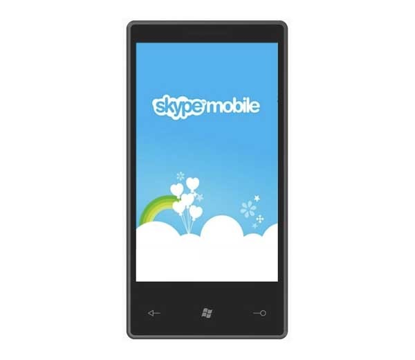 Skype, la videollamada llega a los móviles Windows Phone 7