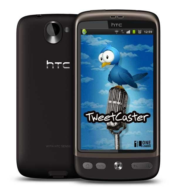 TweetCaster for Twitter 5.6, twitea fotos editadas en Android