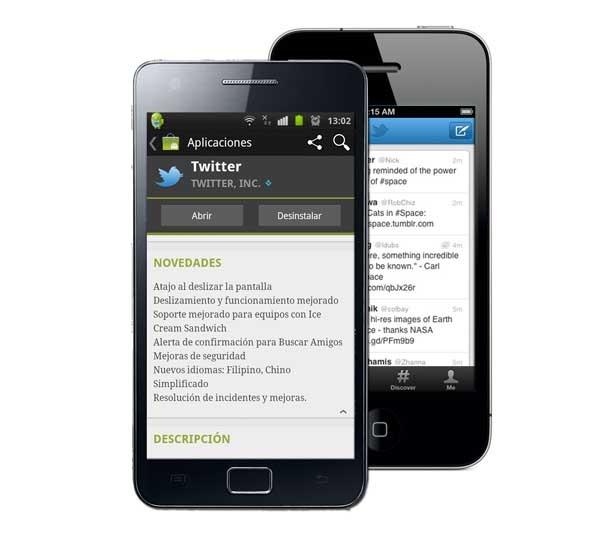 Twitter, actualización con mejoras para Android y iPhone