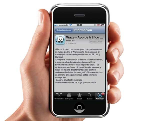 Waze 3.1, ahora conduce con manos libres desde tu iPhone