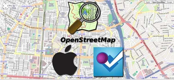 Apple y Foursquare abandonan Google Maps por Open Street Map