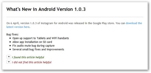 instagram android 1.0.3