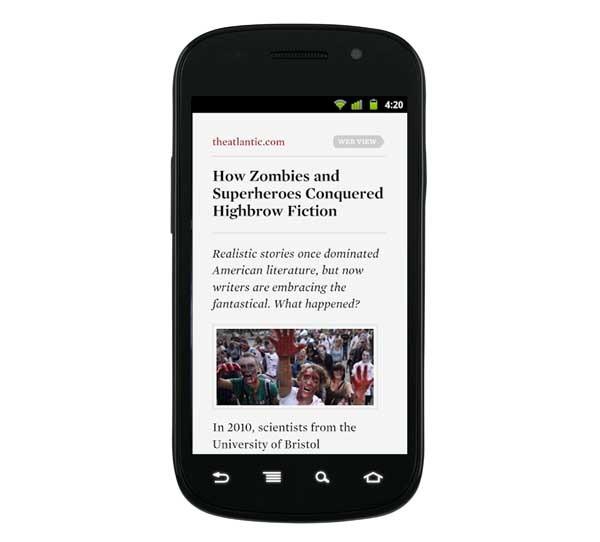 Readability, guarda tus artículos para leerlos más tarde