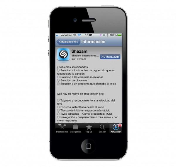 Shazam 5.0.1, ahora reconoce películas, series y anuncios