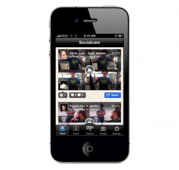 Socialcam 4.1, una red social de vídeos para iPhone y Android