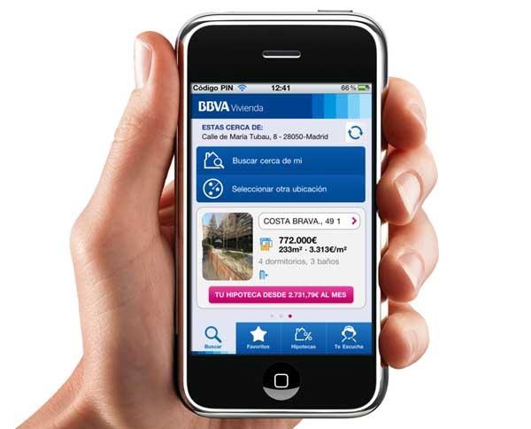 BBVA Vivienda, encuentra casa desde tu Android o iPhone