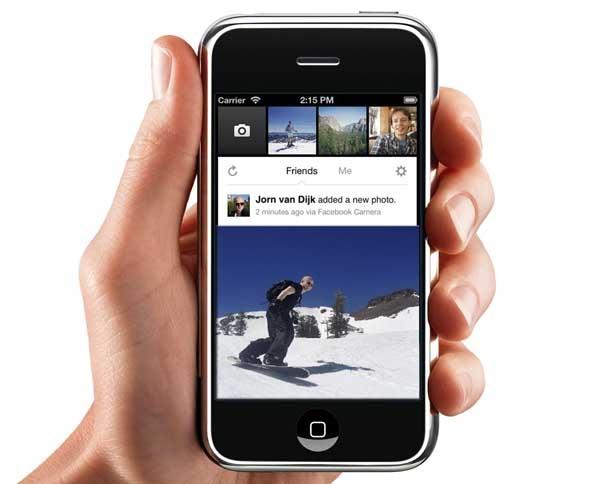 Facebook Camera, los filtros fotográficos llegan a Facebook