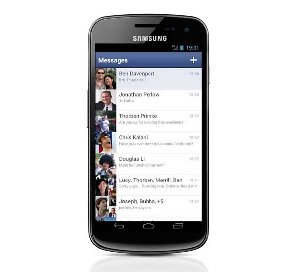 Facebook Messenger 1.7.0, ahora con indicadores en Android