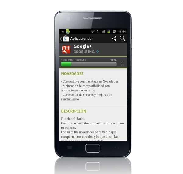 Google+ 2.6, el rediseño de esta red social llega a Android