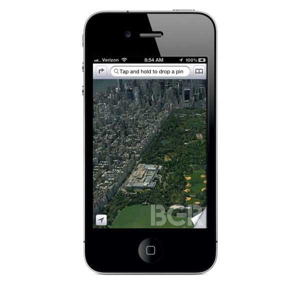 Apple tendrá su propia aplicación de mapas 3D en iOS 6