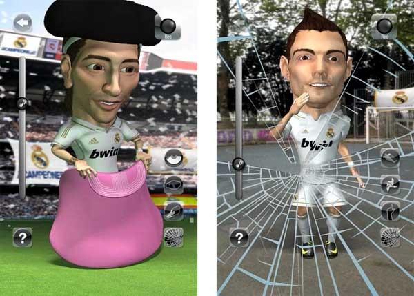 Real Madrid Talking Players, jugadores contestones en iPhone