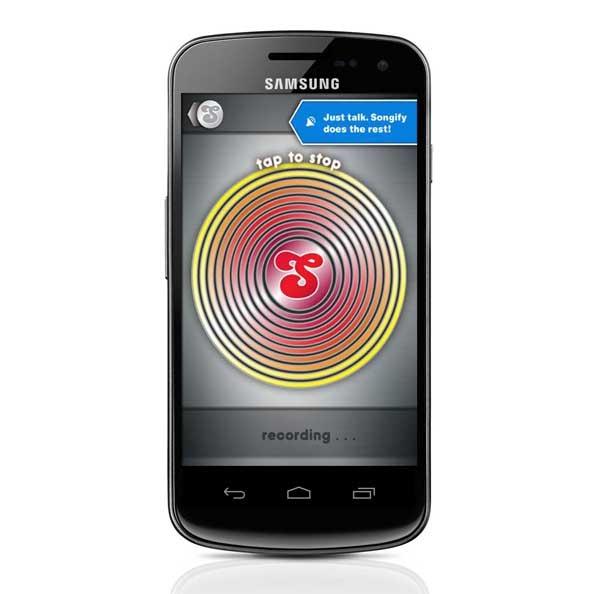 Songify, crea canciones a partir de frases con tu Android