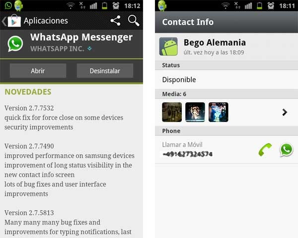 whatsapp 2.7.75 android
