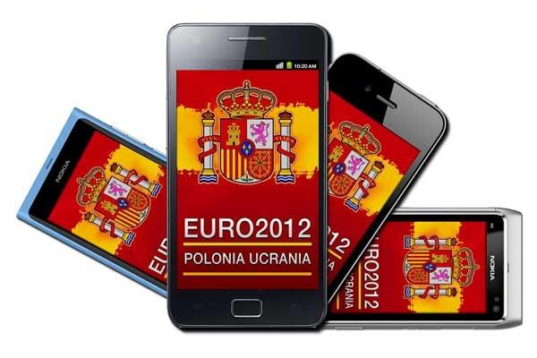 Cómo seguir la Eurocopa 2012 desde tu móvil