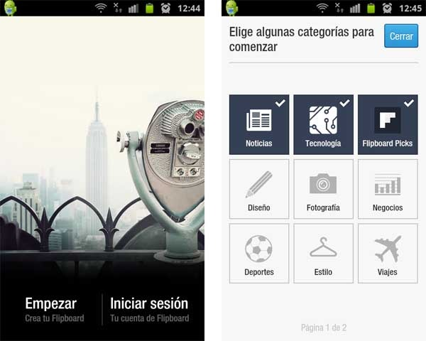 flipboard beta android