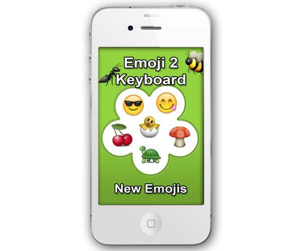 Emoji 2 Keyboard FREE, nuevos emoticonos para iPhone y iPad