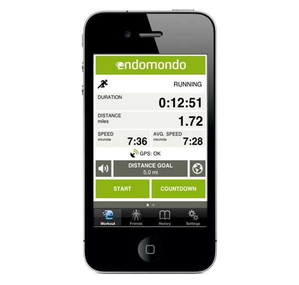 Endomondo actualiza sus aplicaciones para Android y iPhone