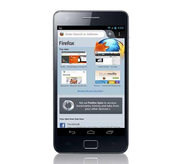 Mozilla Firefox, aún más rápido en dipositivos con Android