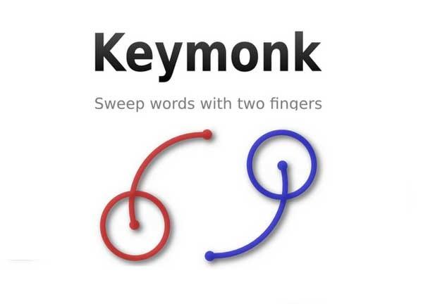Keymonk, el Swype de Android ahora a dos manos