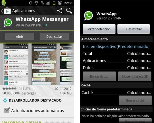 Recuperar contactos whatsapp movil robado