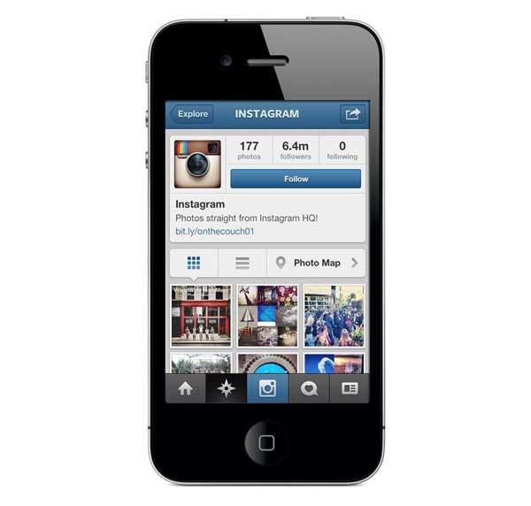 Instagram se actualiza con mapas de nuestras fotos