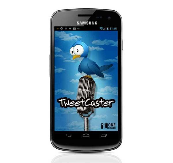 TweetCaster for Twitter, preparado para Nexus 7