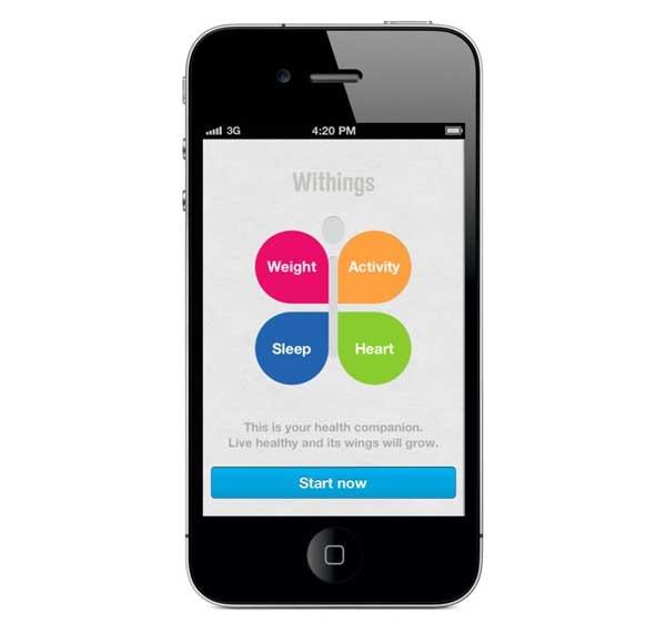 Withings Health Companion, lleva una vida sana con tu iPhone