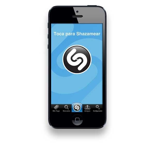 shazam iphone 5