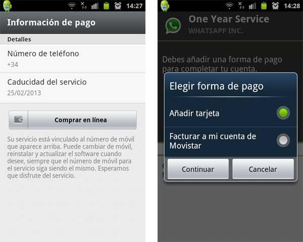 whatsapp renovación