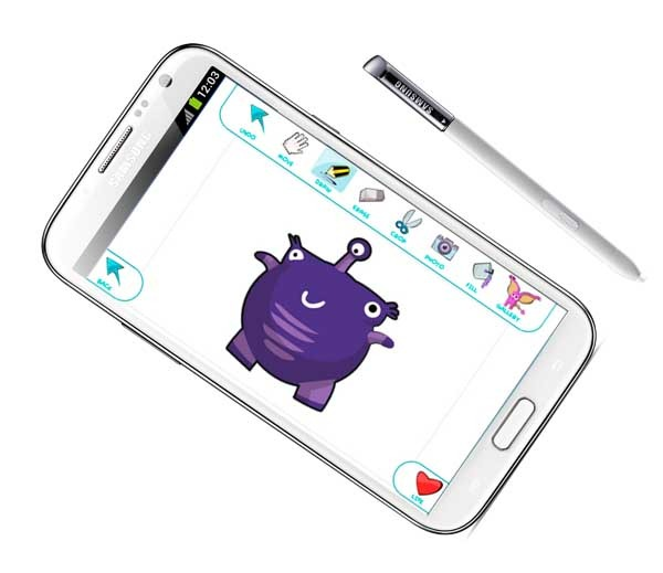 DrawPets, dibuja mascotas y cuídalas en tu Galaxy Note 2