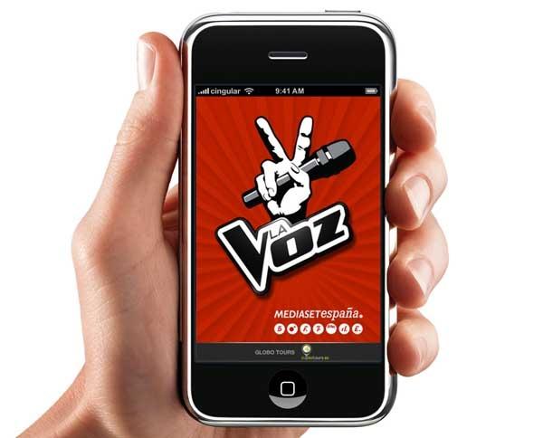 La Voz Telecinco, sigue este concurso desde tu móvil
