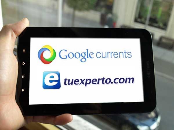 tuexperto.com es uno de los medios de referencia en la edición española de Google Currents