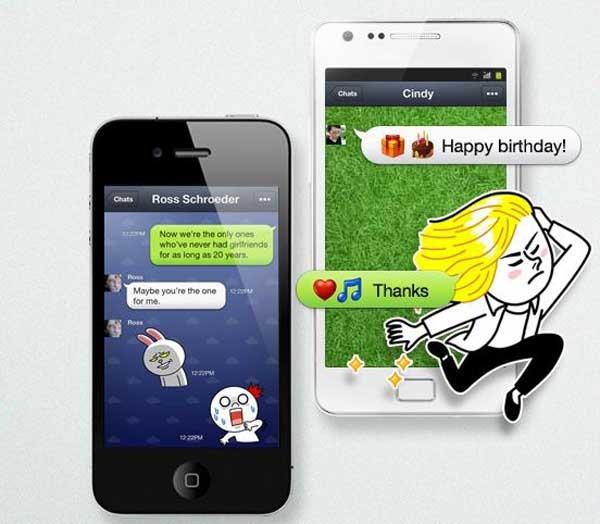 LINE, una alternativa a WhatsApp que llega desde Japón