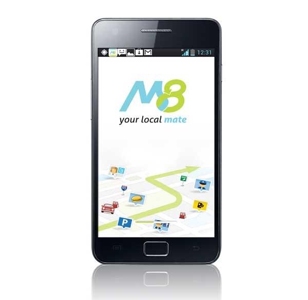 M8, el navegador GPS que te aconseja dónde comer y mucho más