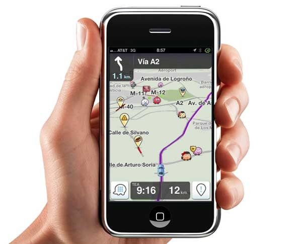 Waze, el navegador GPS gratis que recibe alertas de tráfico en tiempo real
